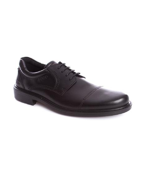 Zapatos Ecco Boston cap toe negro